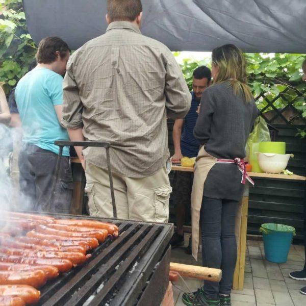 Sausage time!